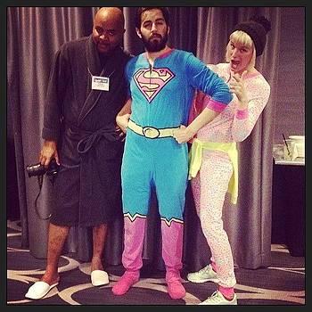 Pj Party Heroes!! #stitcheswest by Lacie Vasquez