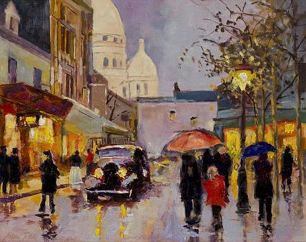 Place Du Theatre by Andre Tutak
