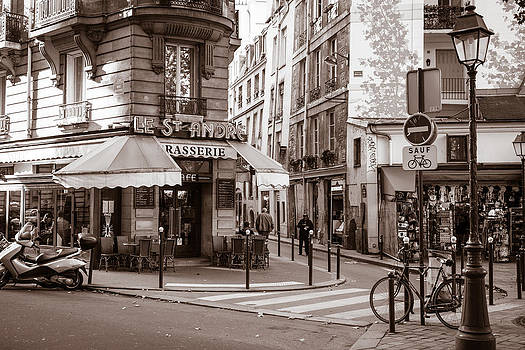 Place St. Andre Paris by Joseph Walsh