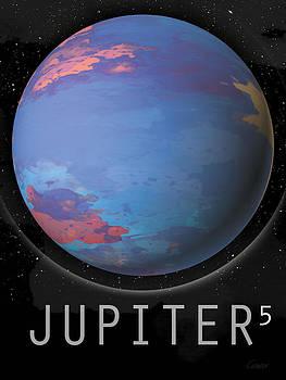 Planet Jupiter by David Cowan