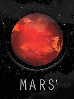 Planet Mars by David Cowan
