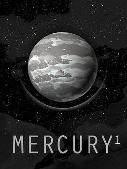 Planet Mercury by David Cowan