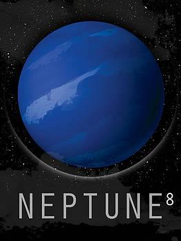 Planet Neptune by David Cowan