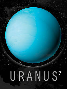 Planet Uranus by David Cowan