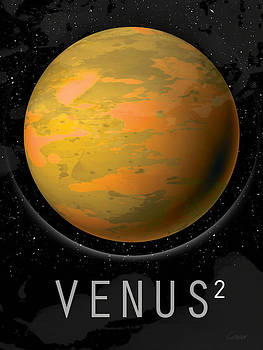 Planet Venus by David Cowan