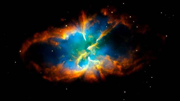 Planetary Nebula by Amanda Struz