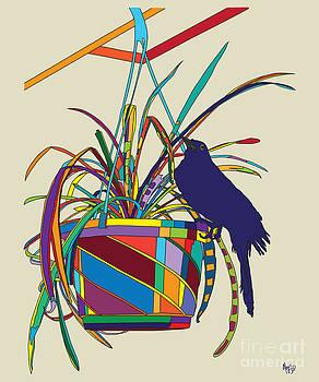 Plant Bird Pop by Megan Dirsa-DuBois