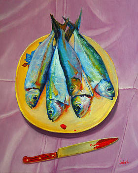 Plate with Tamarong by Michael Jadach