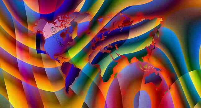 Hakon Soreide - Play with Colours World Map