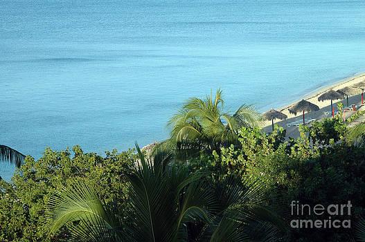 Playa Ancon Trinidad by Angela Kail