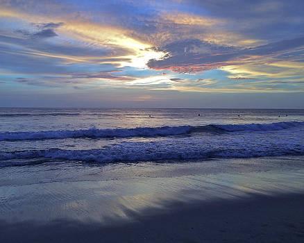 Playa Lola Sunset #1 by Richard Hinds