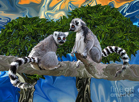 Playful Lemur-ick by Sherin  Hylan