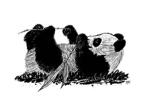 Playful Panda by Susan Turner Soulis