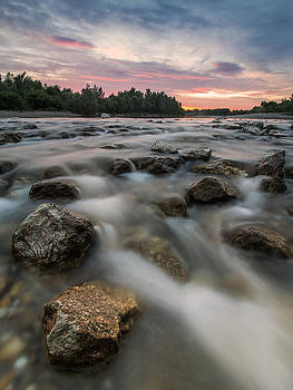 Playful river by Davorin Mance