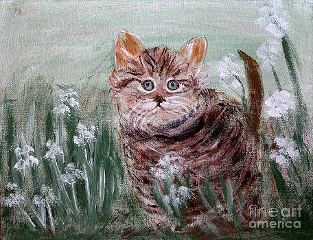 Playing in the Flowers by Elayne Doehrel