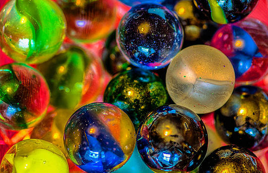 Playing with Marbles by Garvin Hunter