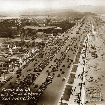 California Views Mr Pat Hathaway Archives - Playland-at-the-Beach from Sutro Heights Park San Francisco  Circa 1948