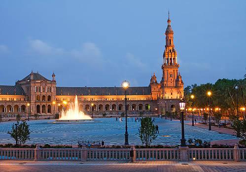 Plaza de Espana by Viacheslav Savitskiy