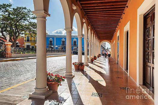 Jo Ann Snover - Plaza de la Independencia Campeche
