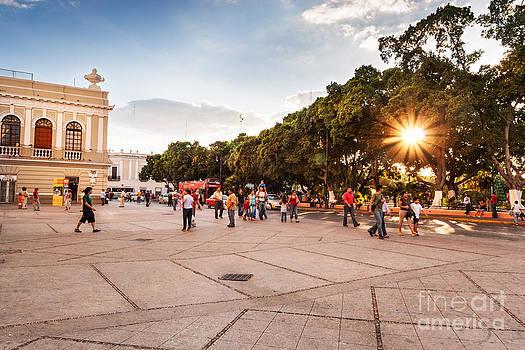 Jo Ann Snover - Plaza Grande Merida Mexico