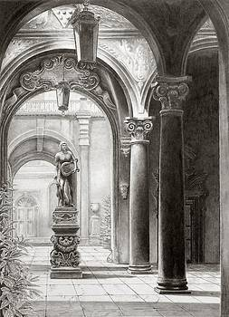 Plazzo Medici  Firenza by Norman Bean