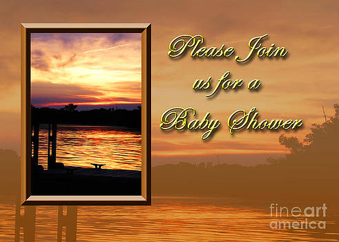 Jeanette K - Please Join us for a Baby Shower Pier