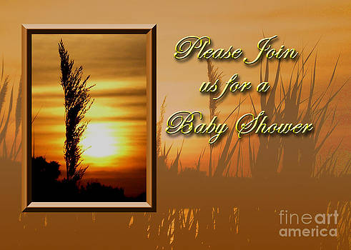 Jeanette K - Please Join us for a Baby Shower Sunset