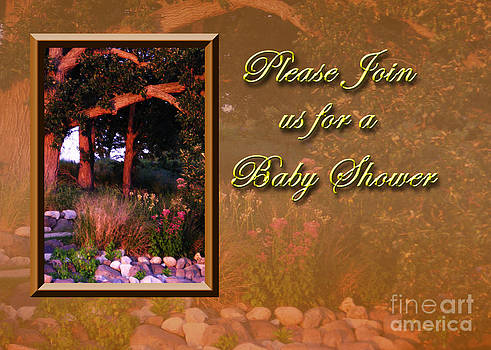 Jeanette K - Please Join us for a Baby Shower Woods