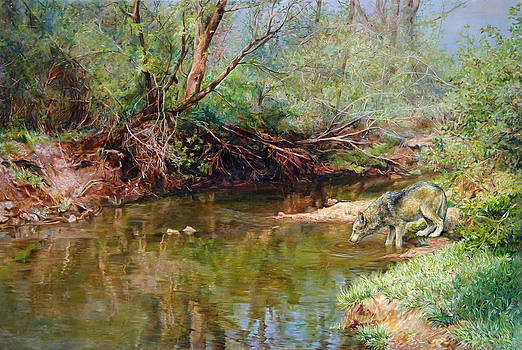 Pleasure Of  The Enchanted Wolf by Svitozar Nenyuk