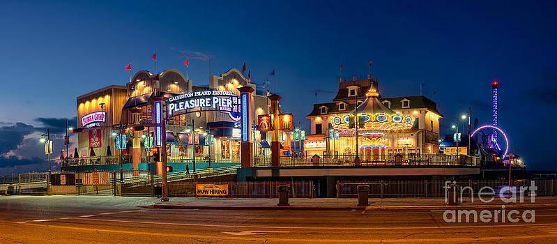 Pleasure Pier by Cathy Alba