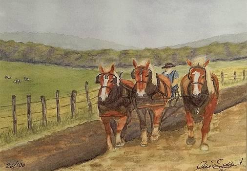 Plow Horses by Ari Eickert