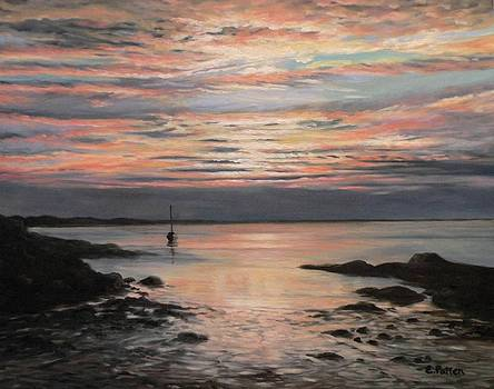 Plum Cove Sunset by Eileen Patten Oliver