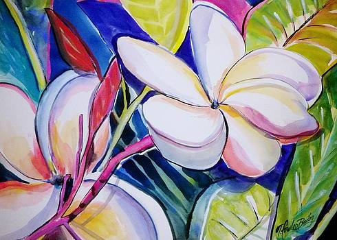 Plumeria Burst by Therese Fowler-Bailey