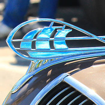 Plymouth Mayflower Hood Ornament by Jim Cotton