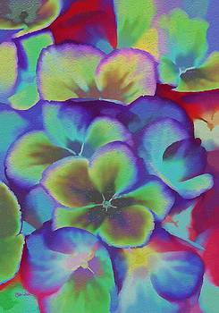 Pocket Full of Pansies by Peggy Gabrielson