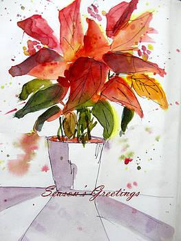 Poinsettia by Charu Jain