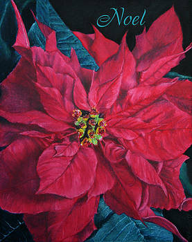 Poinsettia Noel by Marna Edwards Flavell