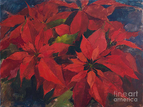 Poinsettia by Patrick Saunders