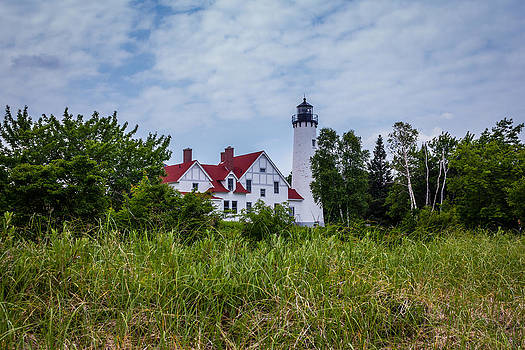 Point Iroquois Lighthouse by Kimberly Kotzian