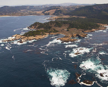 Point Lobos Aerial by Neal Martin