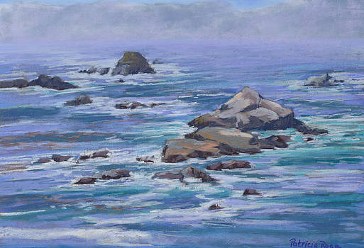 Point Lobos Overlook by Patricia Rose Ford