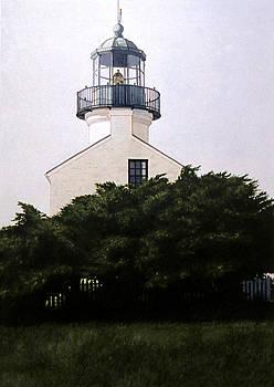 Point Loma Light by Tom Wooldridge