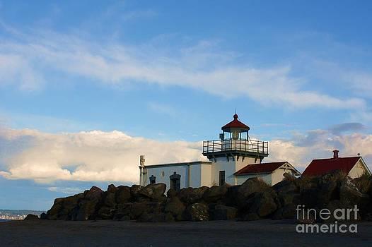 Vicki Maheu - Point No Point Lighthouse