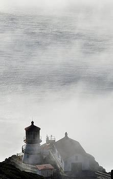 Point Reyes in the Fog by Mischelle Lorenzen