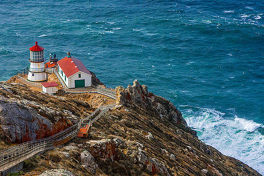 Point Reyes Lighthouse by Fernando Margolles