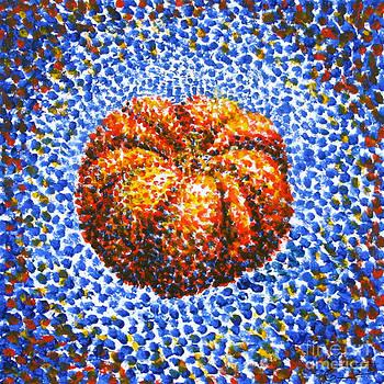 Pointillism Pumpkin by Samantha Geernaert