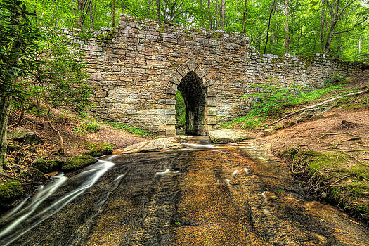Pointsett Bridge - South Carolina by Dustin Ahrens