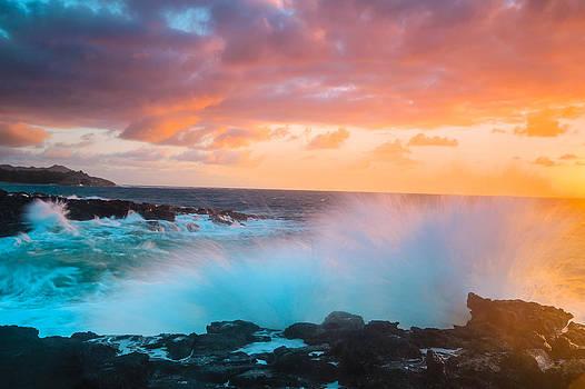 Poipu Beach Kauai Sunrise by Sam Amato