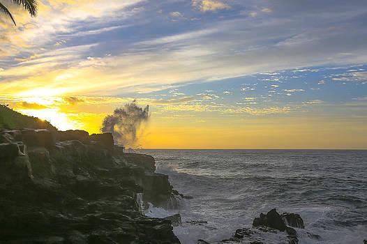 Poipu Kauai Sunrise by Sam Amato