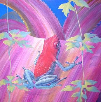 Poison  dart frog   by Bonnie Golden